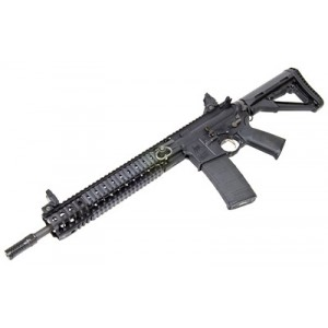 "Spike's Tactical Black Assassin .223 Remington/5.56 NATO 30-Round 16"" Semi-Automatic Rifle in Black - STR5690-S2S"
