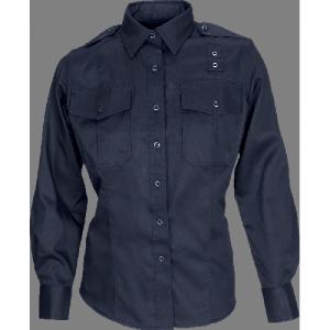 5.11 Tactical PDU Class B Women's Long Sleeve Uniform Shirt in Midnight Navy - X-Small