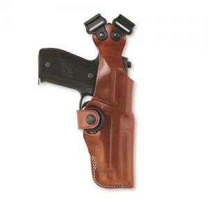 Galco International Shoulder Ambidextrous-Hand Shoulder Holster for Ruger SP101 in Natural Tan - V118