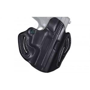 Desantis Gunhide 2 Speed Scabbard Right-Hand Belt Holster for FN Herstal FNX in Black Leather -
