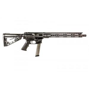 """Diamondback Db9rb, Semi-automatic Rifle, 9mm, 16"""" Melonite Barrel, 1:10 Twist, Black Finish, Roger's Buttstock, 33rd, 15"""" Keymod Rail Db9rb"""