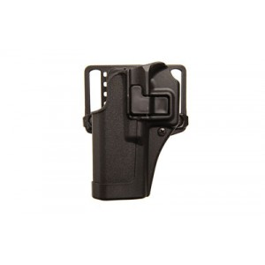Blackhawk Serpa CQC Left-Hand Belt Holster for Heckler & Koch VP9/40 in Black - 410579BK-L