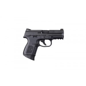 "FN Herstal FNS-9 Compact 9mm 17+1 3.6"" Pistol in Black (Manual Thumb Safety) - 66770"
