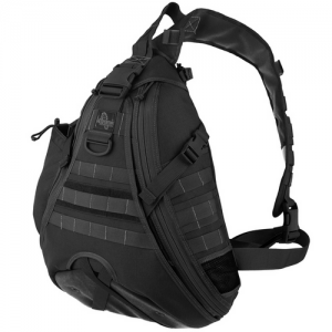 Maxpedition Monsoon Gearslinger Waterproof/Grimeproof Sling Backpack in Black 1000D Nylon - 0410B