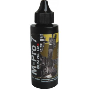 Hoppes M-Pro7 LPX Gun Oil 2 Ounce Squeeze Bottle 0701452