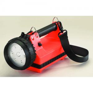 E-Flood Firebox No Charger Flashlight Color: Orange