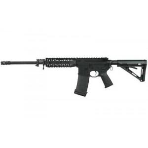 """Black Rain Ordinance Black Gas .223 Remington/5.56 NATO 30-Round 16"""" Semi-Automatic Rifle in Black - BRO-PG5"""
