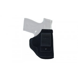 Galco International Inside Pant Right-Hand IWB Holster for Glock 43 in Black Suede Steerhide Center Cut - STO800B
