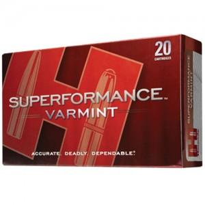 Hornady Superformance .22-250 Remington V-Max, 50 Grain (20 Rounds) - 83366