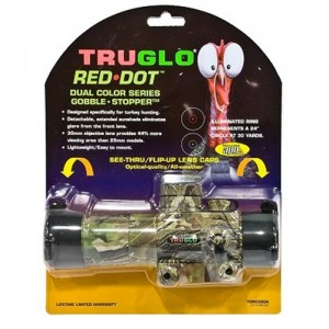 Truglo Gobble Stopper 1x30mm Sight in Realtree APG HD - TG8030GA
