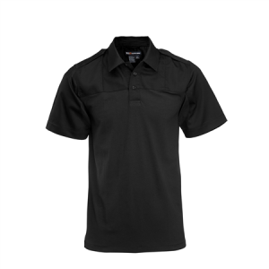5.11 Tactical PDU Rapid Men's Short Sleeve Polo in Black - Large