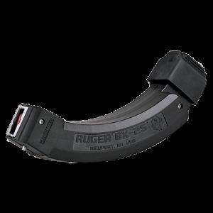 Ruger 90398 Ruger 10/22 BX-25x2 22LR 2-25rd Molded Magazines Black Finish