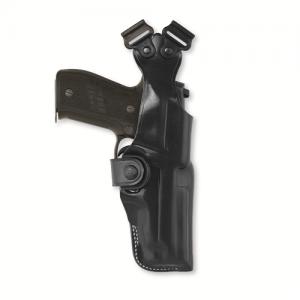 "Galco International VHS Right-Hand Shoulder Holster for AMT Hardballer in Black (5"") - V212B"