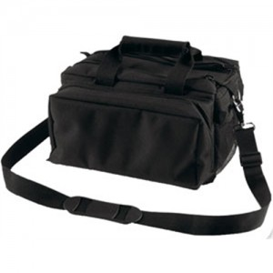 Bulldog Case Company Deluxe Range Bag Waterproof Range Bag in Black Nylon - BD910