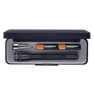 """MagLite Mini Mag Flashlight in Gray (5.75"""") - M3A092"""
