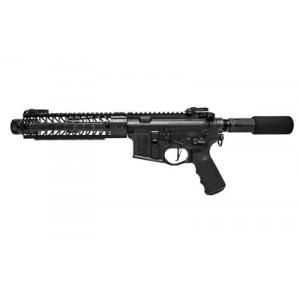 "Spike's Tactical AR-15 .223 Remington/5.56 NATO 30+1 8.1"" AR Pistol in Black Aluminum (Pipe Hitters Union) - PHUP5181-M9B"