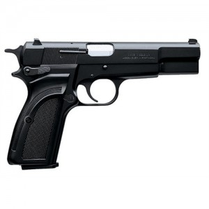 "Browning Hi Power 9mm 9+1 4.62"" Pistol in Black (Mark III) - 51001393"