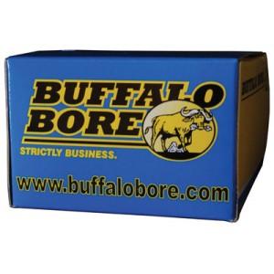 Buffalo Bore Ammunition Heavy .35 Remington Jacketed Flat Nose, 220 Grain (20 Rounds) - 17A/20