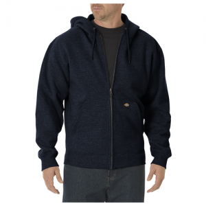 Dickies Midweigth Fleece Men's Full Zip Hoodie in Dark Navy - Medium
