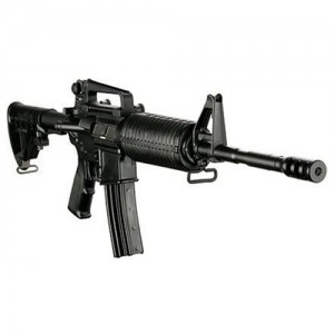 """DPMS Panther Arms AP4 .223 Remington/5.56 NATO 30-Round 16"""" Semi-Automatic Rifle in Black - RFA2AP4PMC"""