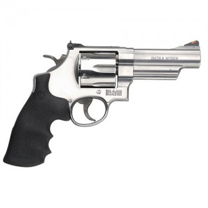 """Smith & Wesson 629 .44 Remington Magnum 6-Shot 4"""" Revolver in Satin Stainless - 163603"""
