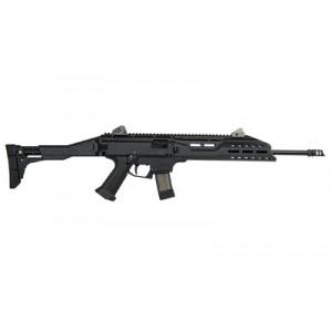 """CZ Scorpion EVO 3 S1 9mm 20-Round 16.2"""" Semi-Automatic Rifle in Black (Muzzle Brake) - 08505"""