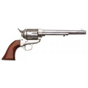 "Taylors & Co Cattleman Model 1873 .45 Colt 6-Shot 5.5"" Revolver in Stainless - 4501"