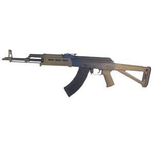 "High Standard AKMT 7.62X39 30-Round 16"" Semi-Automatic Rifle in Matte Black/FDE - AKMT-FDE"