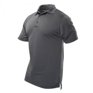 Tru Spec 24-7 Men's Short Sleeve Polo in Charcoal - Large
