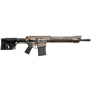 "Patriot Ordnance Factory War Hog .308 Winchester/7.62 NATO 20-Round 16.5"" Semi-Automatic Rifle in Cerakote Burnt Bronze - 704"
