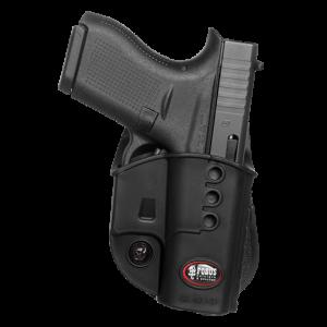 Fobus USA Evolution Left-Hand Paddle Holster for Glock 42 in Black - GL42NDLH