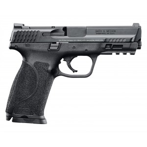 """Smith & Wesson M&P 2.0 9mm 17+1 4.25"""" Pistol in Black Polymer (No Thumb Safety) - 11521"""
