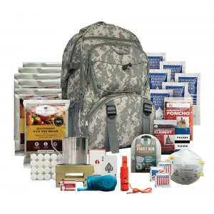 Wise Foods 01622GSG Emergency Five Day Survival Backpack Camo 32 Servings