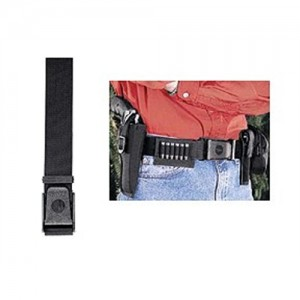 Uncle Mike's Deluxe Duty Belt in Black Textured Nylon - 50