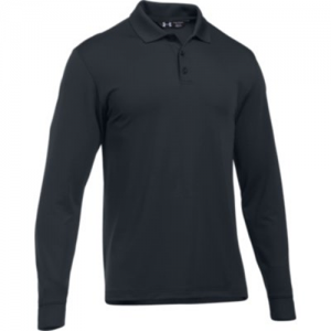 Under Armour Performance Men's Long Sleeve Polo in Dark Navy - Small