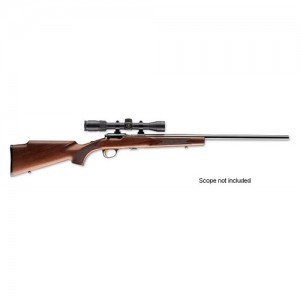 "Browning T-Bolt Target/Varmint .22 Winchester Magnum 10-Round 22"" Bolt Action Rifle in Blued - 25176204"
