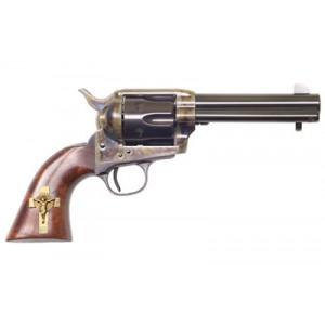 """Cimarron Holy Smoker .45 Long Colt 6-Shot 4.75"""" Revolver in Blued - PP310GCI01"""