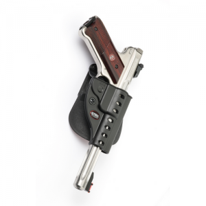 Fobus - Rotating 2-1/4 Belt Holder Gun Fit: Ruger Mark II Hand: Right - RU3RB214