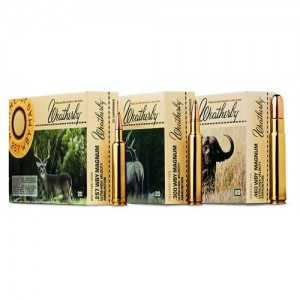 Weatherby Interlock .416 Weatherby Magnum Soft Point RN Expanding, 400 Grain (20 Rounds) - H416400RN