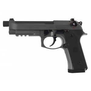"Beretta 92 M9A3 F 9mm 17+1 5.2"" Pistol in Grey (Safety Only) - J92M9A3M3"