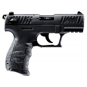 "Walther P22-CA (*CA* Compliant) .22 Long Rifle 10+1 3.4"" Pistol in Tenifer Black - 5120333"