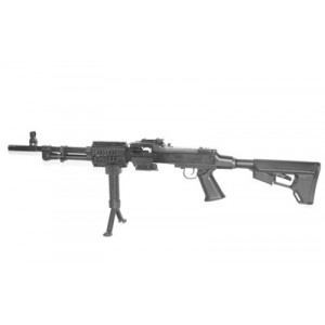 "DS Arms RPD 7.62X39 100-Round 17.5"" Semi-Automatic Rifle in Black - RPD175CARBINE-A"