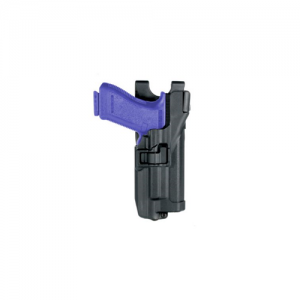 Level 3 Serpa - Light Bearing Duty Holster Gun Fit: Sig Sauer P220 Finish: Matte Hand: Right - 44H506BK-R