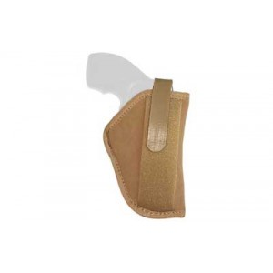 """Uncle Mike's Belly Band Ambidextrous-Hand Belly Holster for Sub-Compact Autos in Natural (3.75"""") - 8745-4"""