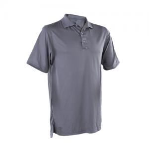 Tru Spec 24-7 Men's Short Sleeve Polo in Steel Grey - Small