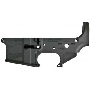 Core 15 Milled Stripped Lower Receiver, Semi-automatic, 223 Rem/556nato, Black Finish 100258
