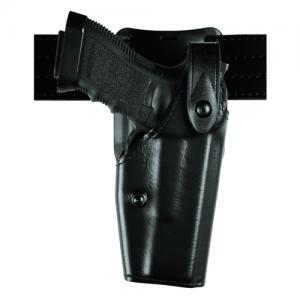 "Safariland 6285 Low Ride SLS Hooded Right-Hand Belt Holster for Glock 17 in STX Basketweave (4.5"") - 6285-83-481"