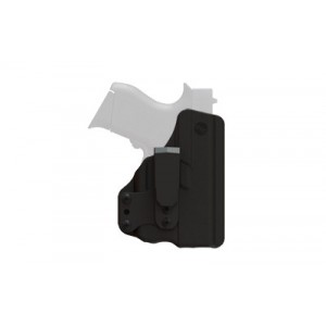 Blade Tech Industries Molded Ctc Ambi Klipt Inside The Pants Holster, Fits S&w Shield With Crimson Trace Lg-489 Red Only, Ambidextrous, Black Lg-489-hbt Shield - LG-489-HBT SHIELD