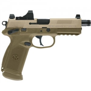 "FN Herstal Five-Seven 5.7x28mm 20+1 4.75"" Pistol in Black (Threaded Barrel) - 3868929120"