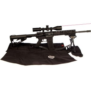 "American Tactical Imports Mil-Sport .223 Remington/5.56 NATO 30-Round 16"" Semi-Automatic Rifle in Black - ATIG15MS556DAV"